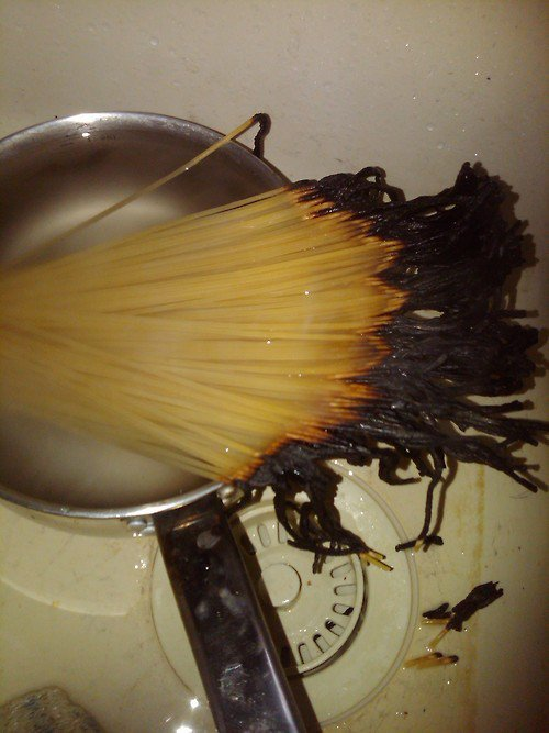 Food Fail Spaghetti