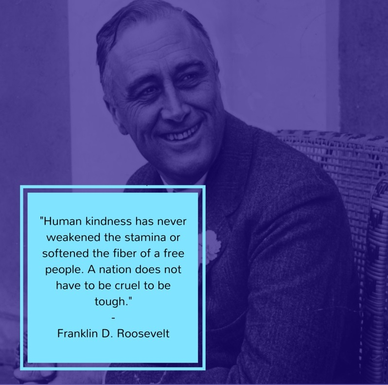 Franklin D Roosevelt Quote
