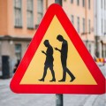 Danger Smart Phone Walkers