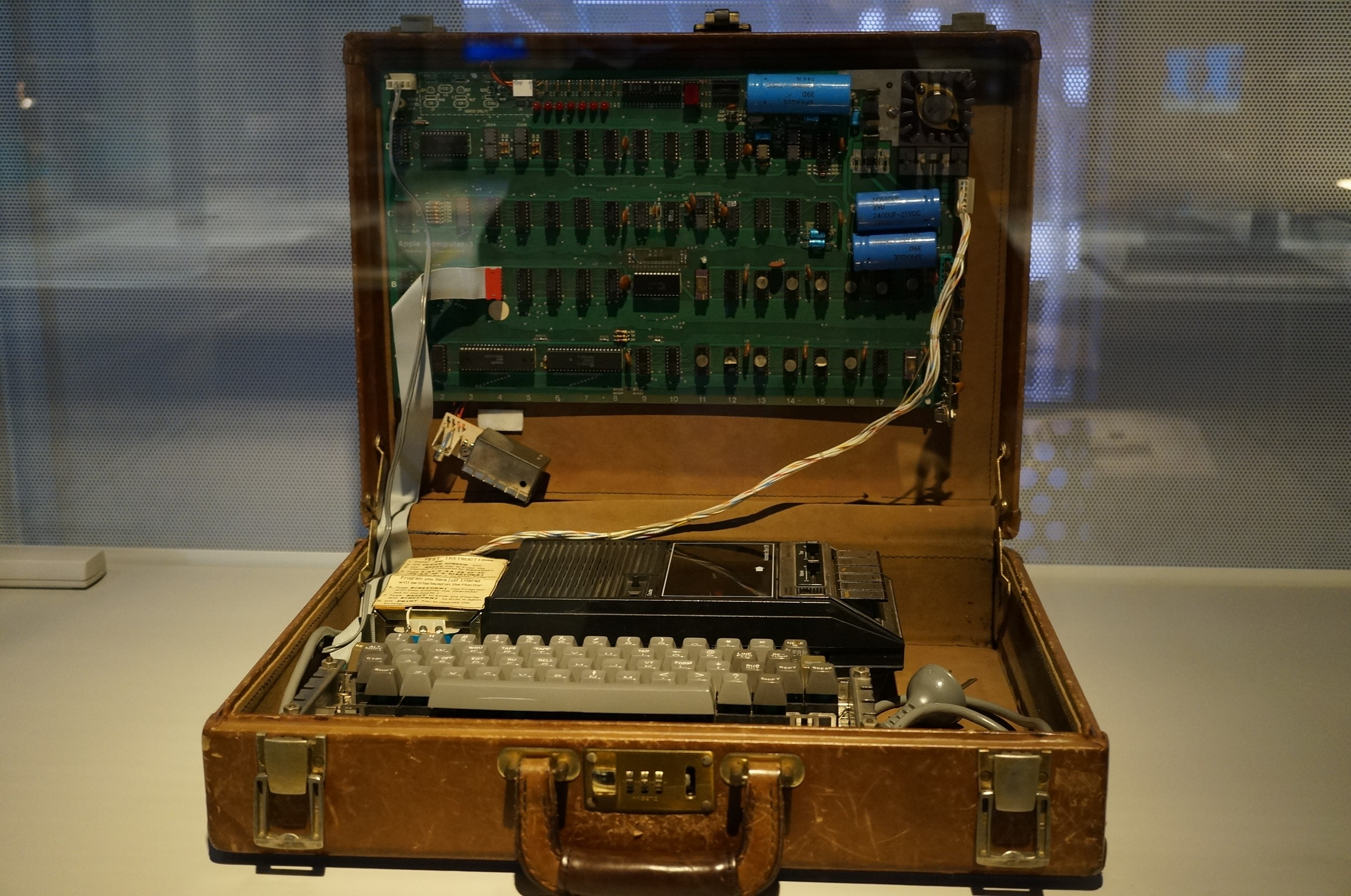 Early home-made computer