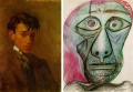 Picasso Self-Portrait at Age 16 and 72