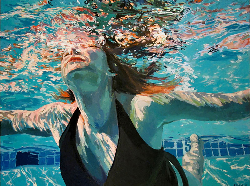 Underwater Painting Under the Surface