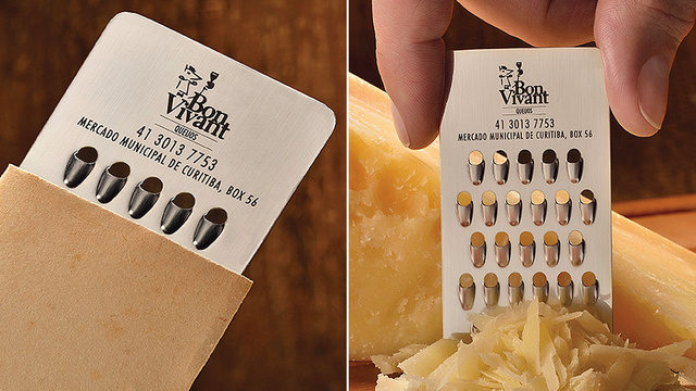 Business Card for a Cheese Store