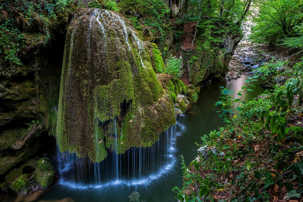 Romania's Bigar Waterfall