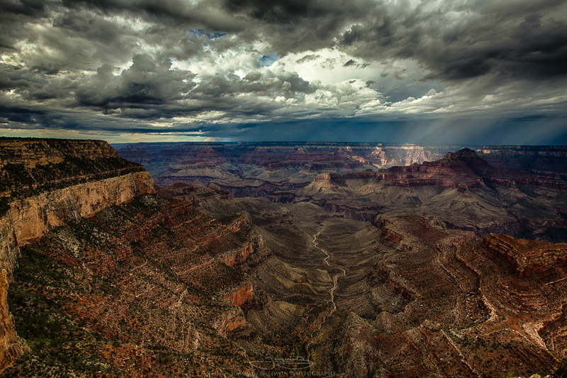Storm Coming to the Grand Canyon