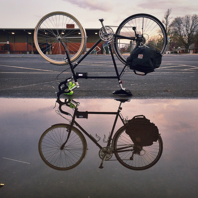 Upside Down Bicycle