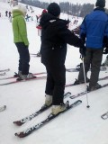 Skiing–what's wrong with this picture?